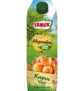Tamek Meyvelim Kayısı 1 Lt