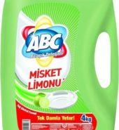 ABC Bulaşık Deterjanı Misket Limon 4kg