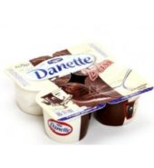 Danone Danette 2'lim Çikolatalı Sütlü 4X65 Gr