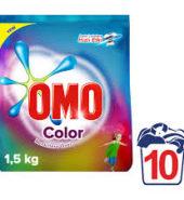 omo 1,5 kg color 10 yıkama