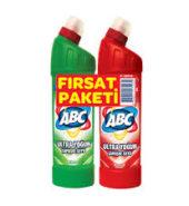 ABC Ultra Yoğun çamaşır suyu 2li