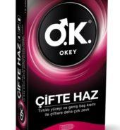 Okey Çifte Haz Prezervatif 10'lu