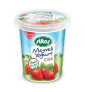 Sütaş Meyveli Yoğurt Çilekli 500 G