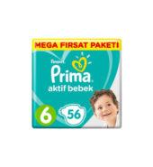 Prima Aktif Bebek Mega Fırsat Paketi 6 Beden 56'lı