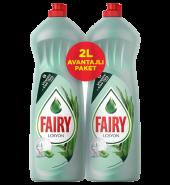 Fairy Bulaşık Deterjanı Aloe Vera Avantajlı Paket 2 Lt