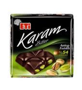 Eti Karam Bitter %54 Kakao Antep Fıstıklı 60 g