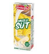 Yörükoğlu Muzlu Süt 200 Ml