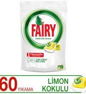 Fairy Hepsi Bir Arada Limon Kokulu 60'lı