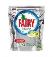 Fairy Platinum Hepsi Bir Arada Limon Kokulu 43'lü