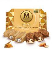 MAGNUM MİNİ CARAMEL GOLD & BADEM
