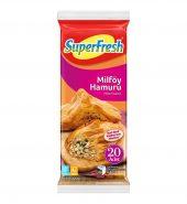 Superfresh Milföy Hamuru 20 Adet 1000 Gr