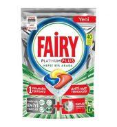 Fairy Platinum Plus Hepsi Bir Arada 40'lı