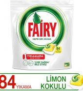 Fairy Hepsi Bir Arada Limon Kokulu 84'lü