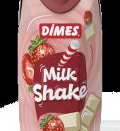 Dimes Milkshake Çilek-Vanilya 310 ml