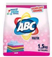 ABC MATİK RENKLİLER 1,5 KG 10 YIKAMA