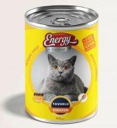 Energy Konserve Tavuklu Yetişkin Kedi Maması 415 gr