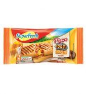 Superfresh Pizza Tost Cheddar Peynirli 2 Adet 250 g