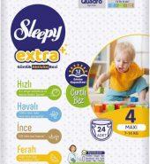 SLEEPY EXTRA 4 MAXI 7-14 KG 24 ADET