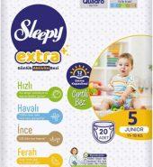 SLEEPY EXTRA 5 JUNIOR 11-18 KG 20 ADET
