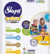 SLEEPY EXTRA 7 XXLARGE 20-30 KG 14 ADET