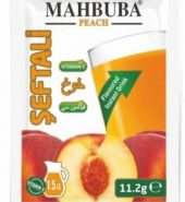 Mahbuba Şeftali Aromalı İçecek Tozu 11,2 g