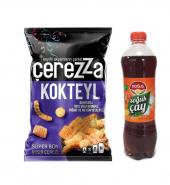 Çerezza Kokteyl 117 g & Doğuş İce Tea Şeftali 1 Lt