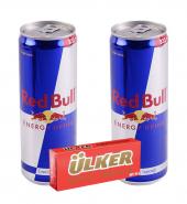 Redbull 2×355 ml & Ülker Napoliten