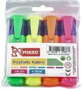Mikro Fosforlu Kalem 4 Renk