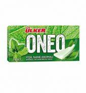 Ülker Oneo Yeşil Nane Aromalı Sakız 7 Adet