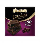 Ülker Çikolata %80 Kakaolu Bitter 60g